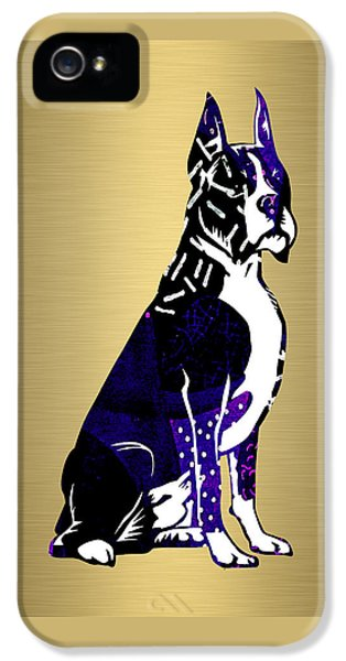 Boxer Collection IPhone 5 Case by Marvin Blaine