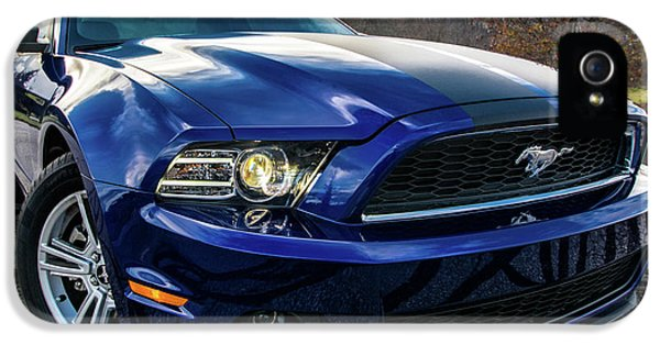 IPhone 5 Case featuring the photograph 2014 Ford Mustang by Randy Scherkenbach