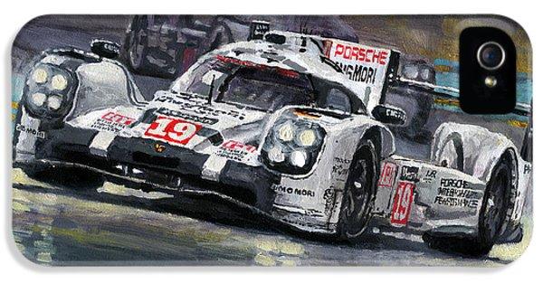 2015 Le Mans 24 Lmp1 Winner Porsche 919 Hybrid Bamber Tandy Hulkenberg IPhone 5 Case