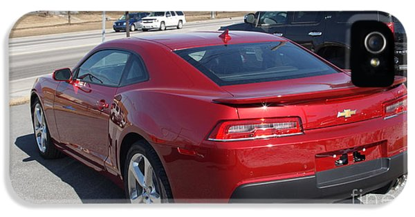 2016 Chevy Camaro Ss Rear   # IPhone 5 Case by Rob Luzier