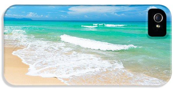 Beach iPhone 5 Case - Beach by MotHaiBaPhoto Prints