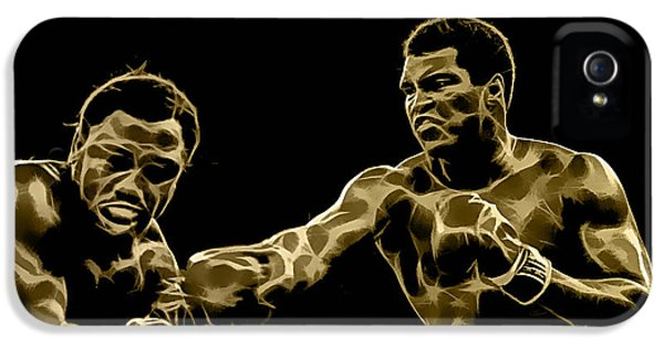 Muhammad Ali Collection IPhone 5 Case by Marvin Blaine