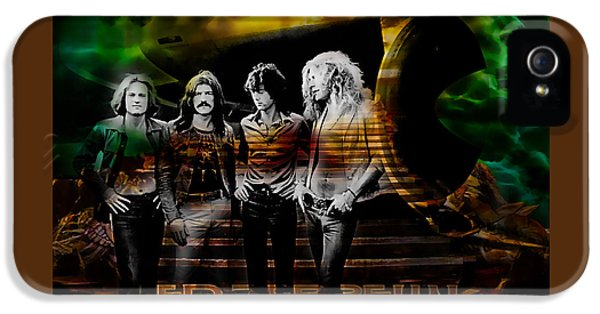 Led Zeppelin Collection IPhone 5 / 5s Case by Marvin Blaine