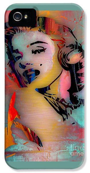 Marilyn Monroe Collection IPhone 5 / 5s Case by Marvin Blaine