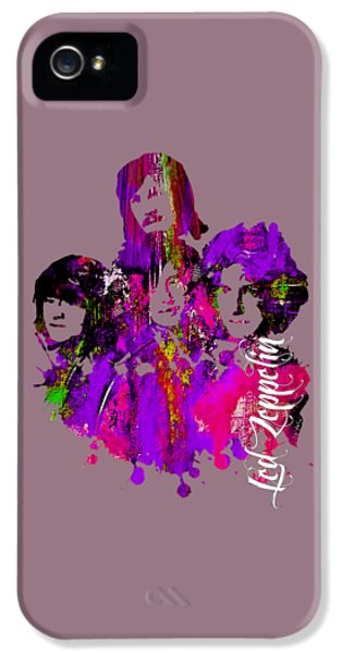 Led Zeppelin Collection IPhone 5 Case by Marvin Blaine