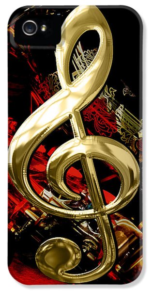 Saxophone Collection IPhone 5 Case by Marvin Blaine