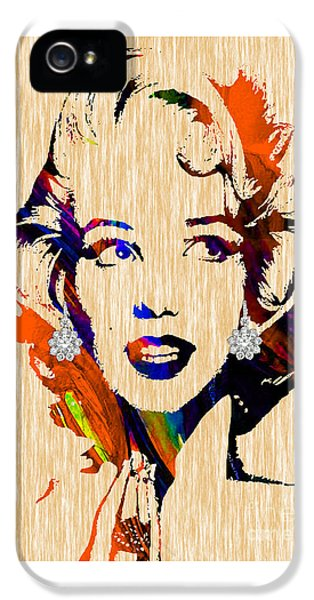 Marilyn Monroe Collection IPhone 5 Case by Marvin Blaine