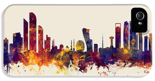 Abu Dhabi Skyline IPhone 5 Case