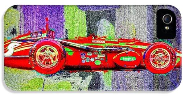 Classic iPhone 5 Case - #car #sportscar #racecar #nascar by David Haskett II