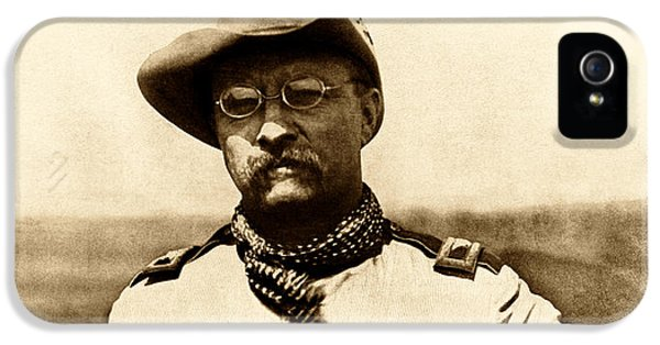 Colonel Theodore Roosevelt IPhone 5 Case by War Is Hell Store