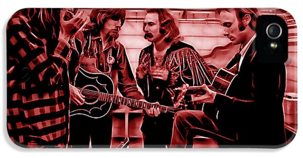 Crosby Stills Nash And Young IPhone 5 Case