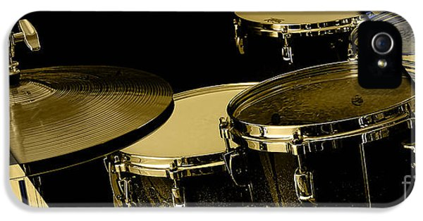 Drums Collection IPhone 5 Case by Marvin Blaine