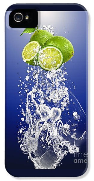 Lime Splash IPhone 5 / 5s Case by Marvin Blaine