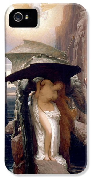 Perseus And Andromeda IPhone 5 Case by Frederic Leighton