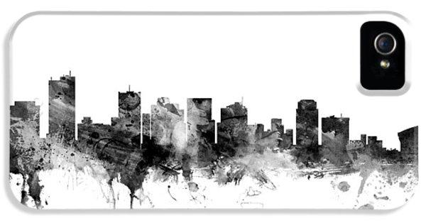 Phoenix Arizona Skyline IPhone 5 Case by Michael Tompsett