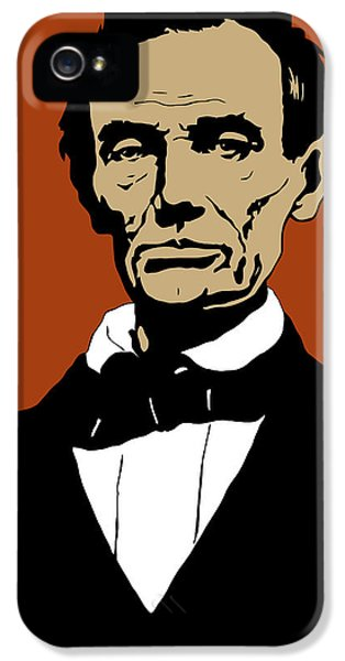 President Lincoln IPhone 5 Case by War Is Hell Store
