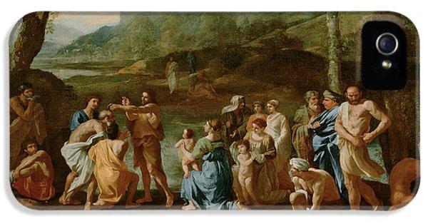 Saint John Baptizing In The River Jordan IPhone 5 Case