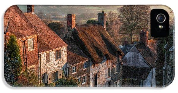 Dorset iPhone 5 Case - Shaftesbury - England by Joana Kruse