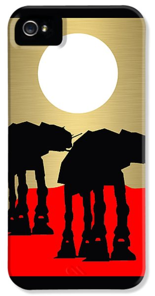 Star Wars At-at Collection IPhone 5 Case by Marvin Blaine