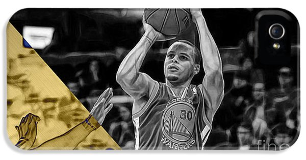 Steph Curry Collection IPhone 5 Case by Marvin Blaine