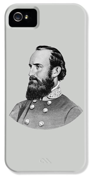 Stonewall Jackson IPhone 5 Case by War Is Hell Store