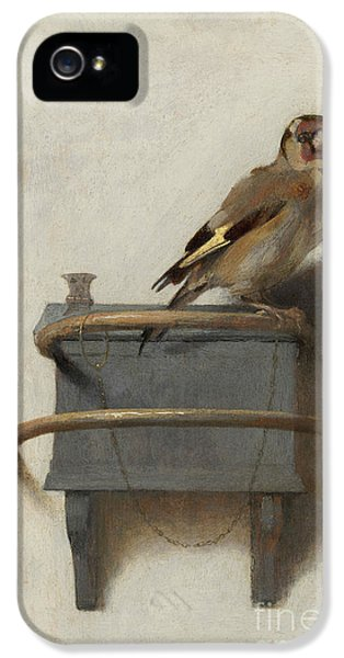 The Goldfinch IPhone 5 Case
