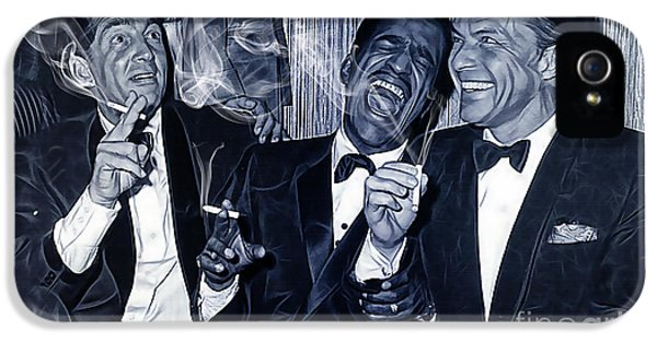 The Rat Pack Collection IPhone 5 Case by Marvin Blaine