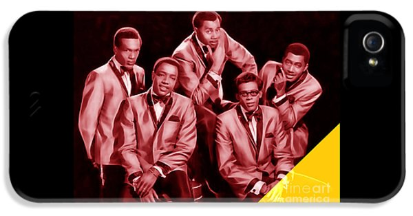 The Temptations Collection IPhone 5 Case by Marvin Blaine