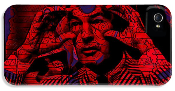 Timothy Leary Collection IPhone 5 Case by Marvin Blaine