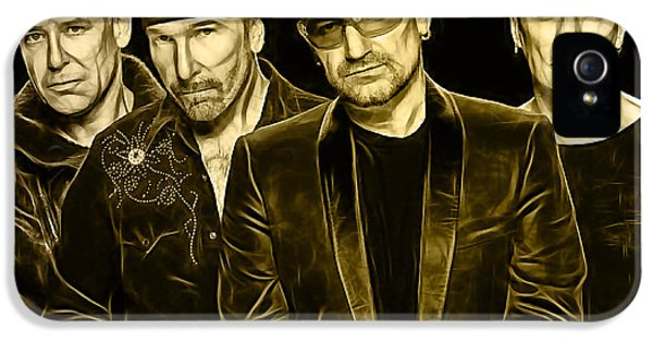 U2 Collection IPhone 5 Case by Marvin Blaine