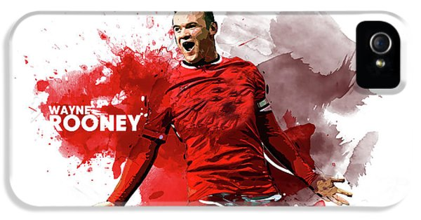 Wayne Rooney IPhone 5 / 5s Case by Semih Yurdabak