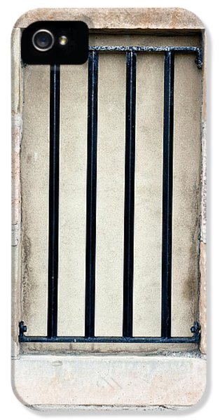 Dungeon iPhone 5 Case - Window Bars by Tom Gowanlock