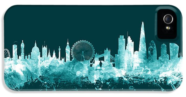 London England Skyline IPhone 5 Case by Michael Tompsett