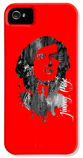 Jimmy Page Collection IPhone 5 Case by Marvin Blaine
