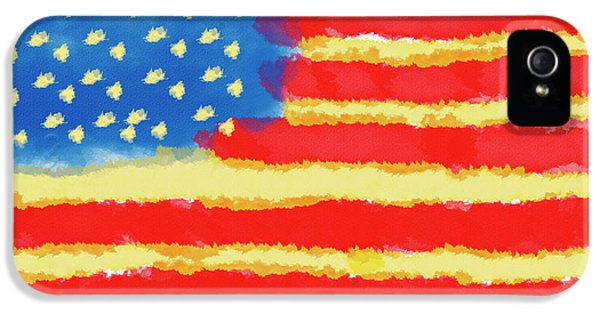 American Flag IPhone 5 Case by Skip Nall