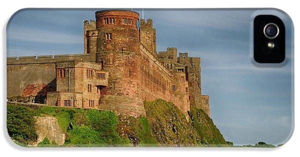 Castle iPhone 5 Case - Bamburgh Castle by Smart Aviation