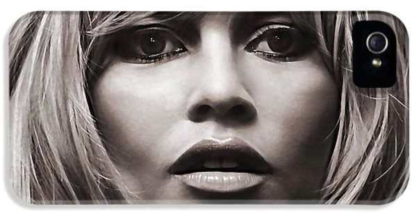 Brigitte Bardot Collection IPhone 5 Case by Marvin Blaine