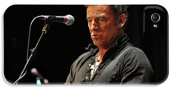 Bruce Springsteen iPhone 5 Case - Bruce Springsteen by Jeff Ross