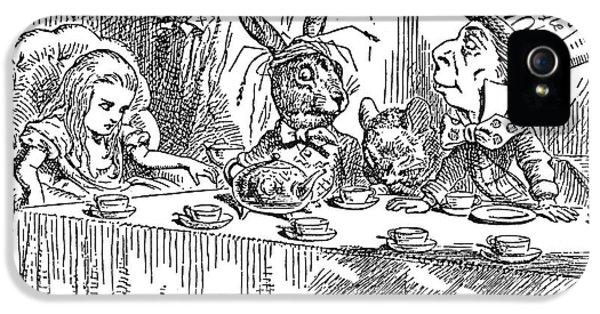 Carroll: Alice, 1865 IPhone 5 Case