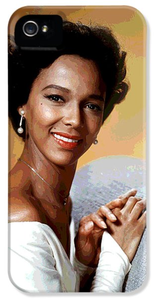 Dorothy Dandridge IPhone 5 Case by Charles Shoup