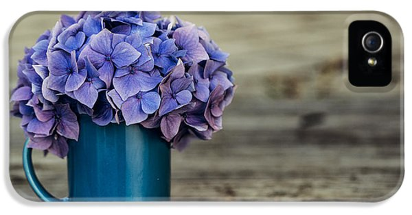 Hortensia Flowers IPhone 5 Case