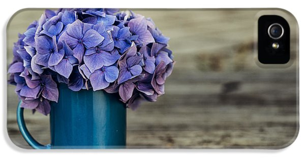 Hortensia Flowers IPhone 5 Case by Nailia Schwarz