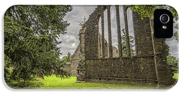 Inchmahome Priory IPhone 5 Case by Jeremy Lavender Photography