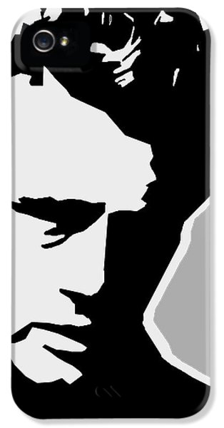 James Dean  IPhone 5 Case by Mark Ashkenazi