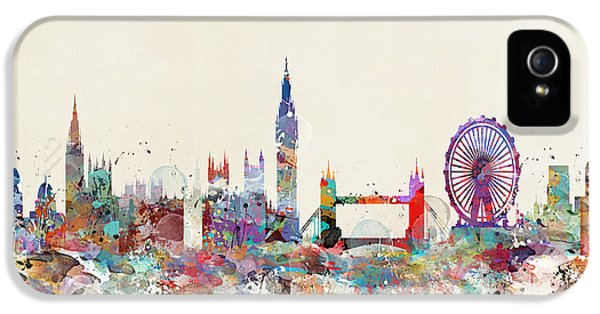 London City Skyline IPhone 5 Case