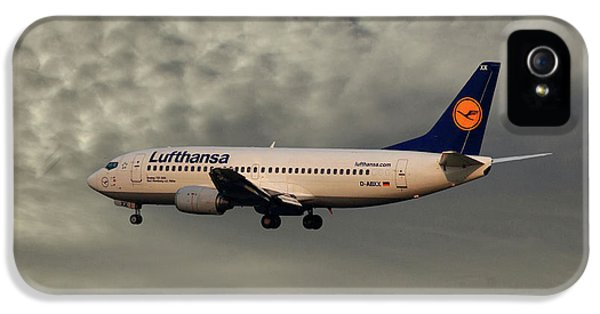 Jet iPhone 5 Case - Lufthansa Boeing 737-300 by Smart Aviation