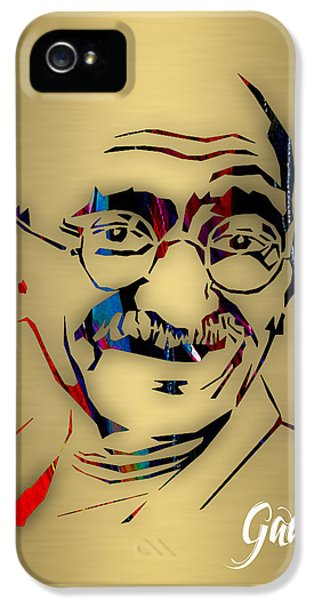 Mahatma Gandhi Collection IPhone 5 Case