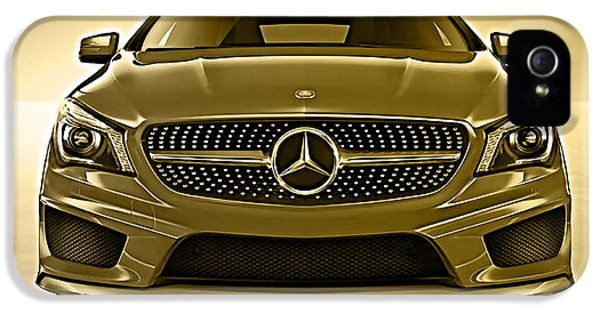 Mercedes Cla Class Coupe Collection IPhone 5 / 5s Case by Marvin Blaine