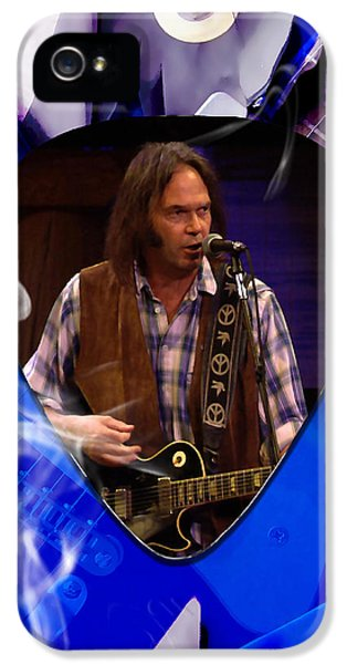 Neil Young Art IPhone 5 Case