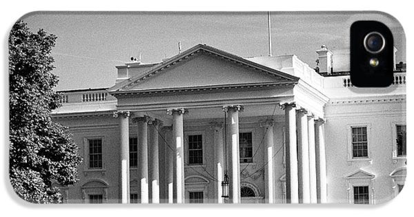 northern facade of the white house Washington DC USA IPhone 5 Case